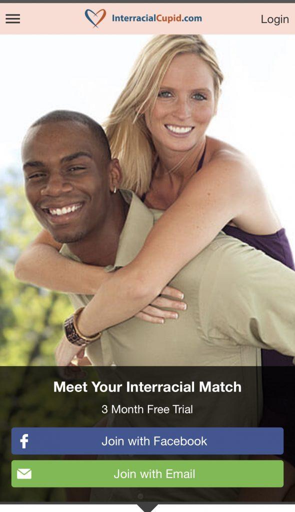 InteracialCupid registration