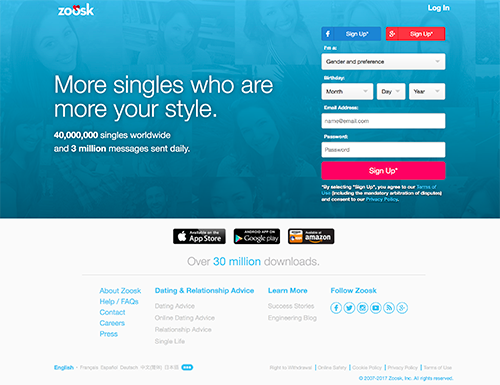 Zoosk Reviews